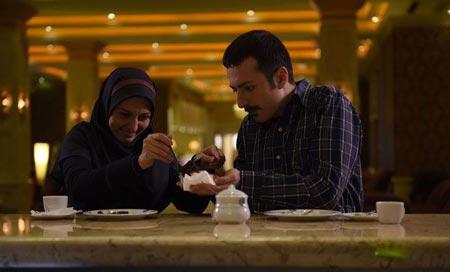 ُعکس های داغ بازیگران سریال زعفرانی