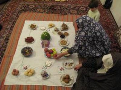 آداب و رسوم عید نوروز , هفت سین