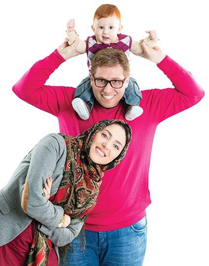 زندگی مادرانه مهسا کرامتی + عکس مهسا کرامتی و خانواده اش