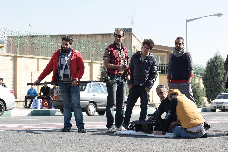 جدیدترین عکس های پشت صحنه سریال پریا