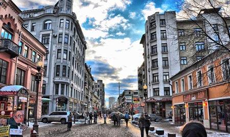 جاذبه های دیدنی و گردشگری مسکو در روسیه