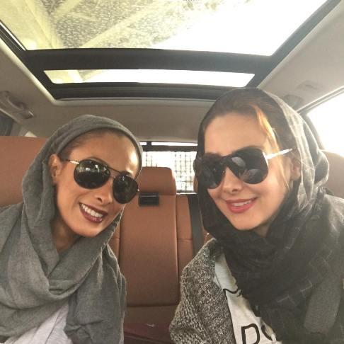آنا نعمتی و سحر زکریا