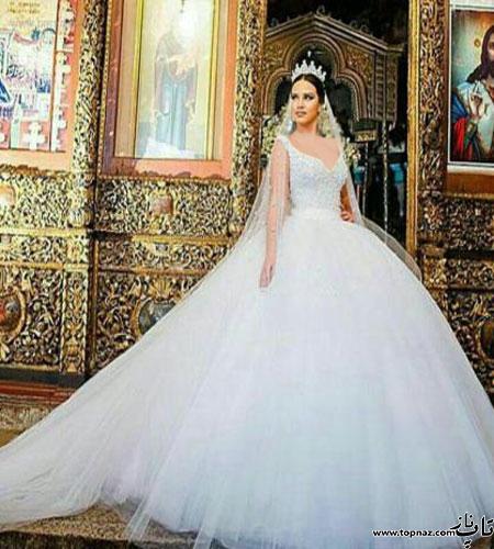 Bride dress 4 1 تازه ترین و جدیدترین ژورنال مدل لباس عروس 2016