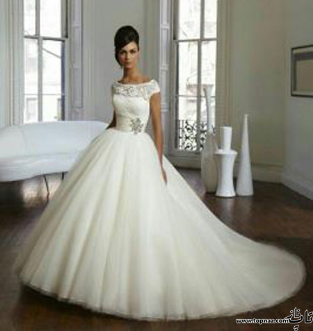 Bride dress 9 1 تازه ترین و جدیدترین ژورنال مدل لباس عروس 2016