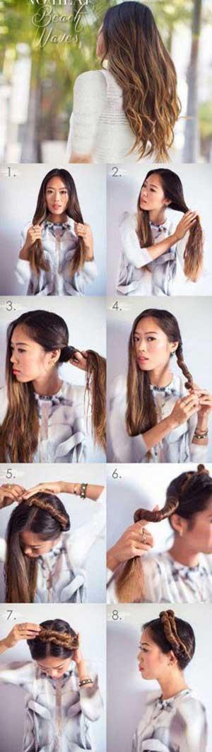 چند حرکت ساده برای فر کردن مو در منزل