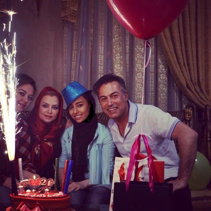 عکس جشن تولد 21 سالگی دایانا حکیمی دختر دانیال حکیمی