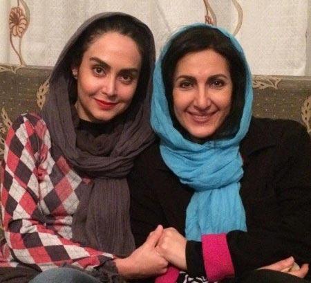فاطمه گودرزی و مریم خدارحمی بازیگران سریال دور دست ها