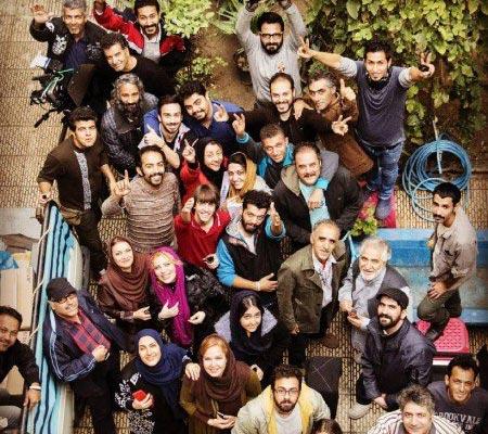 عکس دسته جمعی بازیگران سریال دور دست ها
