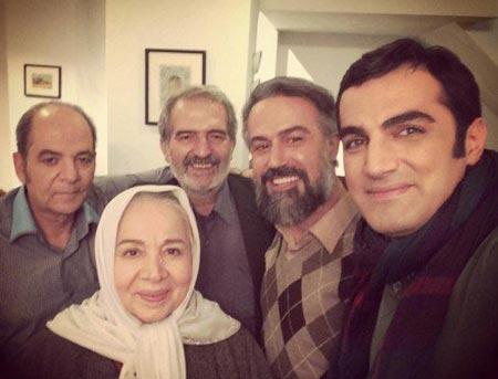 شمسی فضل اللهی, دانیال حکیمی ,محمد عمرانی,کوروش سلیمانی بازیگران سریال دور دست ها