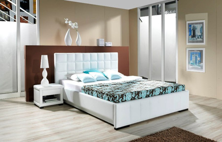 مدل تخت خواب دو نفره شیک جدید