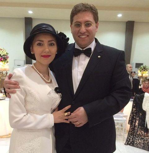 عکس مهسا کرامتی و شوهر در جشن عروسی