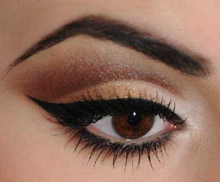 زیبایی و جذابیت ارایش چشم با ترکیب های رنگی