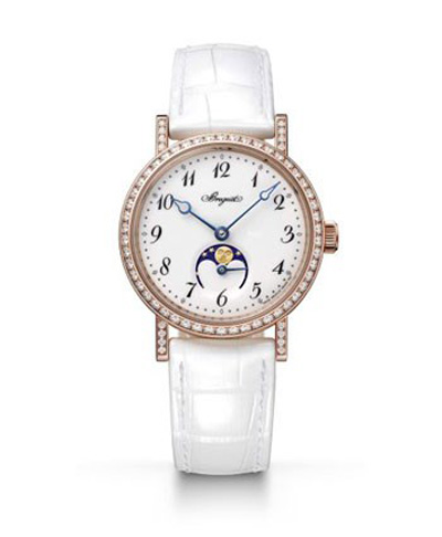 مدل ساعت الماس زنانه برند Breguet