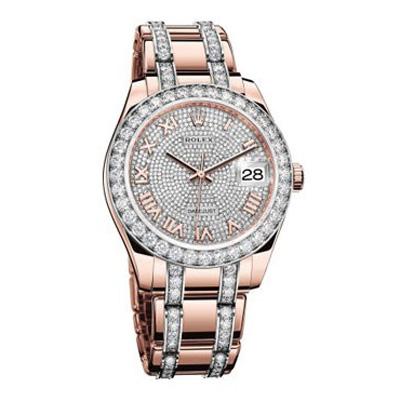 جدیدترین مدل ساعت الماس زنانه برند Rolex