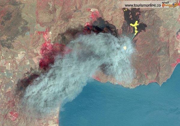 انفجار آتشفشان موموتومبو نیکاراگوئه