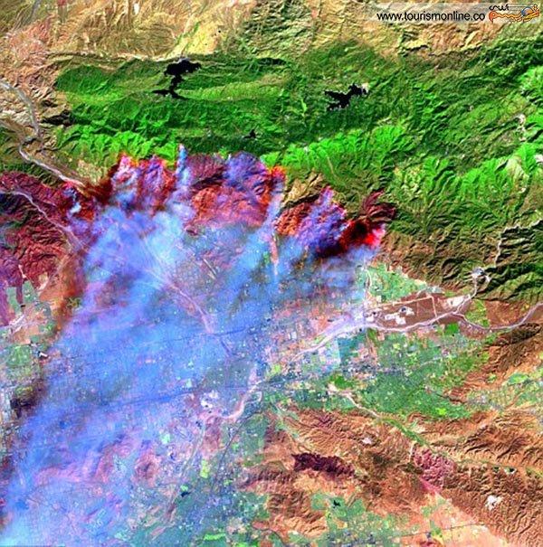 """گردنه """"کاجون"""" در کوههای سن برناردینو-کالیفرنیا-"""