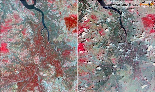 خشکسالی در کره شمالی
