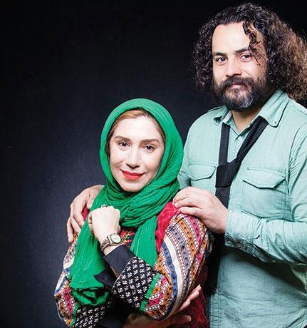 عکس های نسیم ادبی و همسرش بازیگر سریال شهرزاد