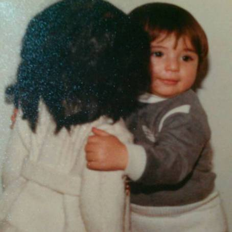 بامزه ترین عکس کودکی نیوشا ضیغمی