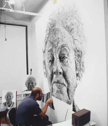نقاشی های جالب با اثر انگشت