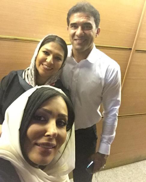عکس جدید پرستو صالحی در کنار همسر عابدزاده