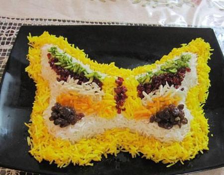 مدل های تزیین برنج