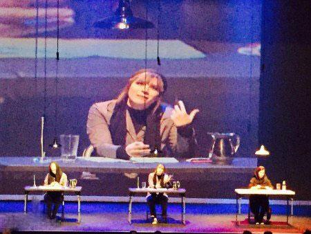 عکس از تیپ جذاب سحر دولتشاهی در کانادا برای اجرای تئاتر