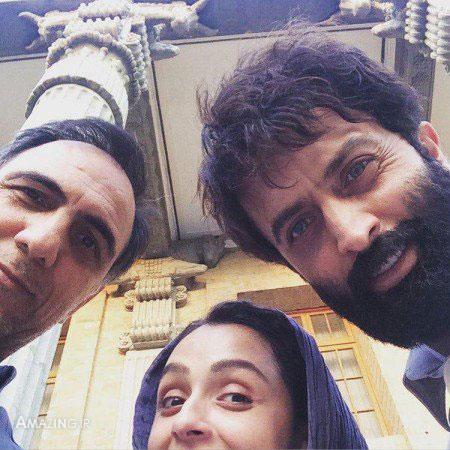 عکس های دیدنی بازیگران در پشت صحنه سریال شهرزاد