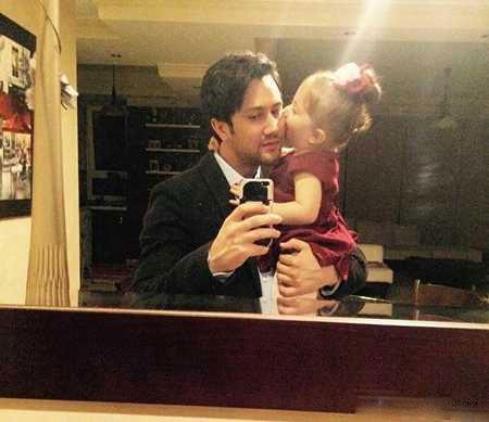عکس جدید شاهرخ استخری و دخترش پناه
