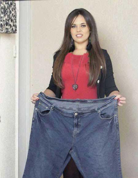 عکس های کاهش وزن خفن این خانم!