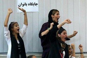 عکس از حضور زنان در ورزشگاه تختی اهواز!