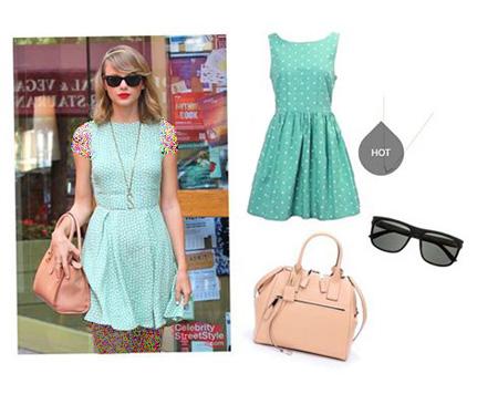 Taylor Swift 10 مدل های ست لباس بهاری تیلور سویفت جهت بهار