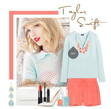 Taylor Swift 11 مدل های ست لباس بهاری تیلور سویفت جهت بهار