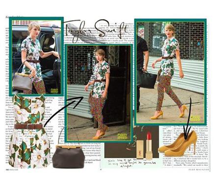 Taylor Swift 3 مدل های ست لباس بهاری تیلور سویفت جهت بهار