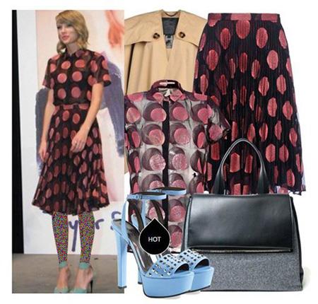 Taylor Swift 6 مدل های ست لباس بهاری تیلور سویفت جهت بهار
