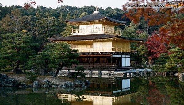کاخ طلایی یا معبد طلایی در کیوتو