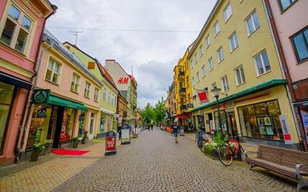 """""""اسکونه"""" در جنوبی ترین نقطه کشور سوئد"""