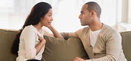 حل کردن مشکلات زن شوهری - دعواهای زن و شوهر