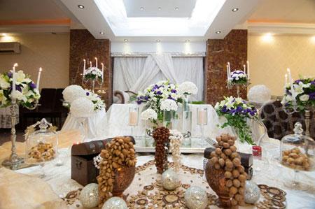عکس هایی از دکوراسیون شیک تالار عروسی