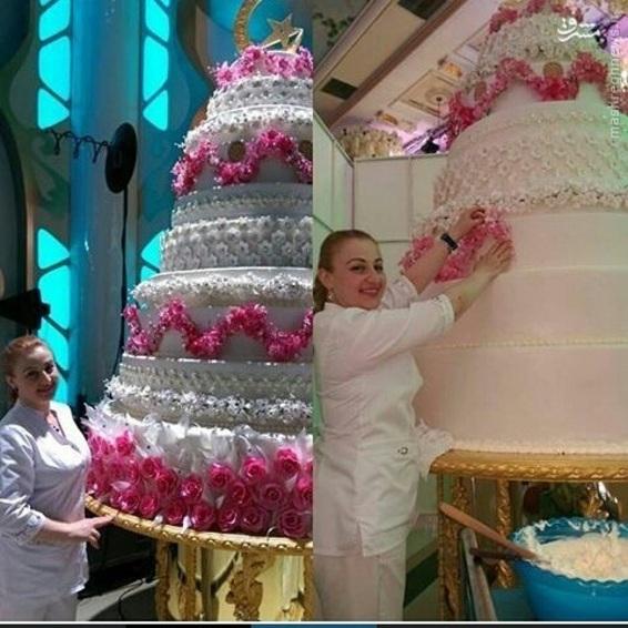 عکس های پرخرج ترین مراسم عروسی تاریخ