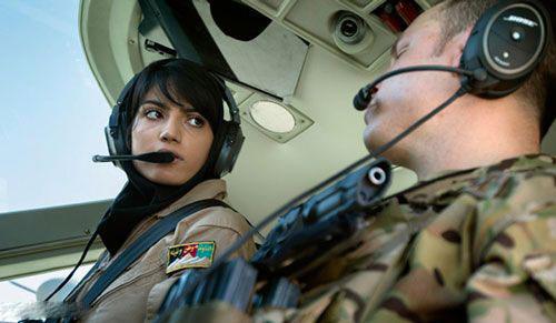 نیلوفر رحمانی؛ خلبان افغانی