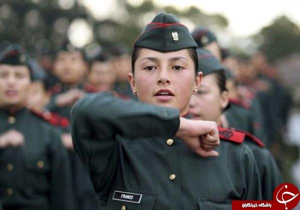 عکس های زنان ارتشی حرفه ای در سراسر دنیا