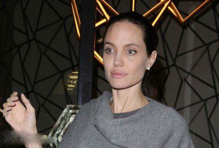 عکس های جدید هیکل لاغر آنجلینا جولی بعد از بیماری