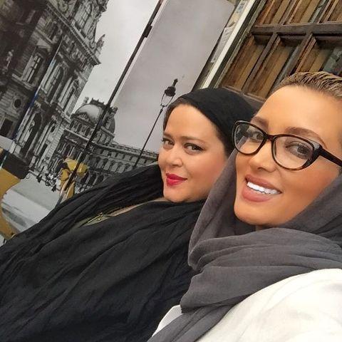 عکس روناک یونسی و شوهرش در رستوران بهاره رهنما!