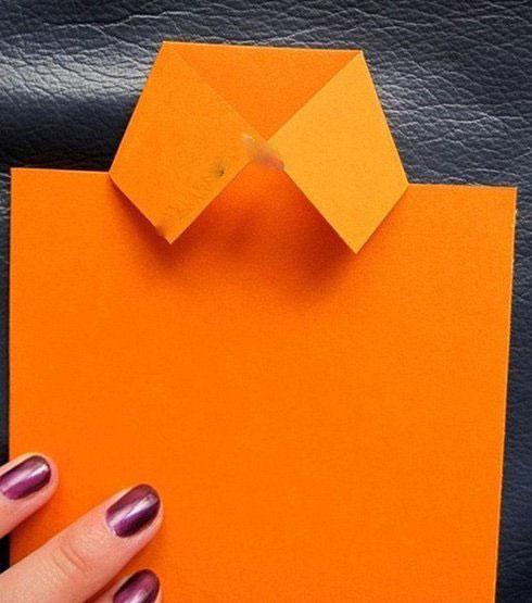 آموزش ساخت کارت تبریک به شکل پیراهن برای روز پدر