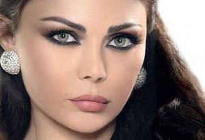 جنجال عکس نیمه برهنه هیفا وهبی خواننده زن عرب! +عکس