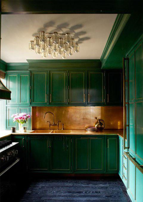 دکوراسیون آشپزخانه خانه کامرون دیاز Cameron Diaz