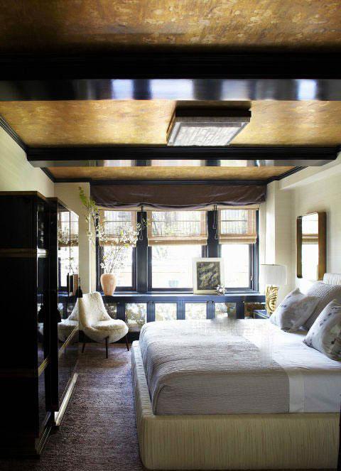 دکوراسیون اتاق خواب اصلی خانه کامرون دیاز Cameron Diaz