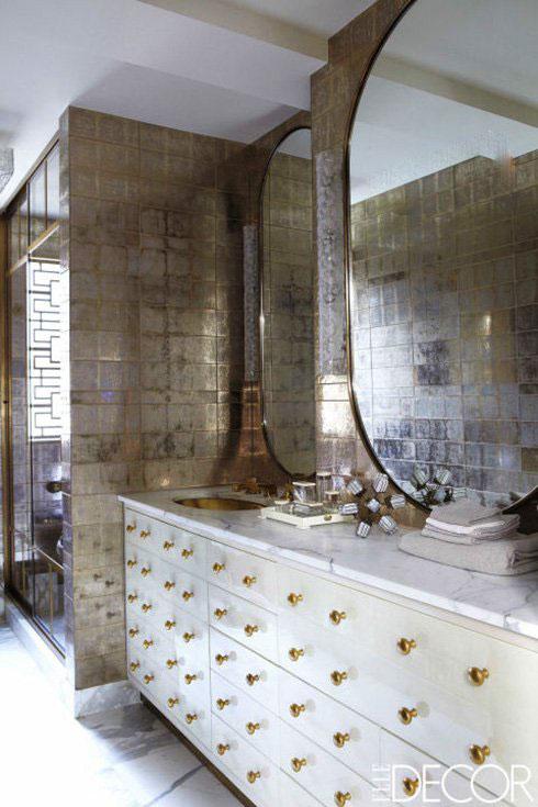 دکوراسیون حمام اصلی خانه کامرون دیاز Cameron Diaz