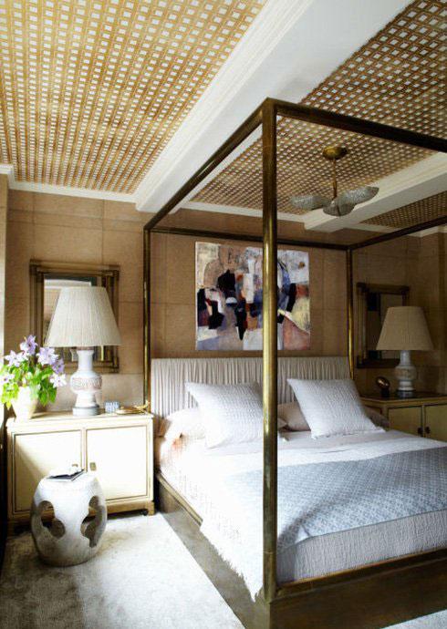 دکوراسیون اتاق خواب میهمان خانه کامرون دیاز Cameron Diaz